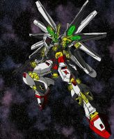 Strike Nu Gundam by unoservix