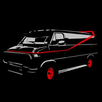 The A-Team Van by Mnollock