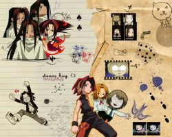 shaman king by snowsnowsnow