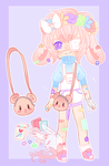 SingleAdopt 021[closed] by PastelBits
