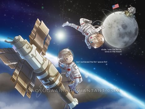 APH_USSR-USA: Space Race by xiaoyugaara