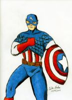 CAPTAIN AMERICA!!! by WibbitGuy