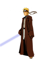 Naruto is A Jedi Knight by UnreaLPiXel