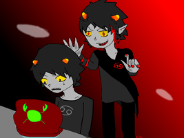 Karkat: Talk to your future self by Near4eva