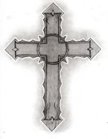 Gothic Cross by The-Infamous-MrGates