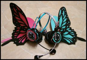 Magnet headphones - Vocaloid by 0TenshiNoYami0