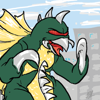 Gigan by boper9