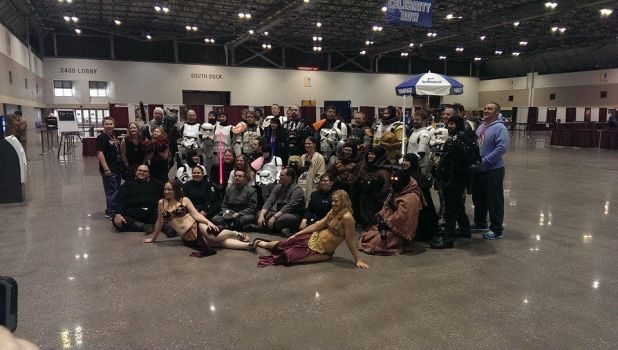 Star Wars Group - Kansas City Comicon 2014 by W2BSuperman