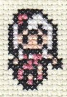 X-Stitch Meat Dress Lady Gaga by missy-tannenbaum