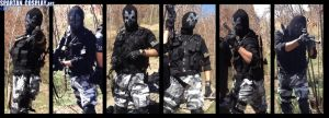 Call of Duty Ghosts Ajax real life Cosplay by SPARTANalexandra