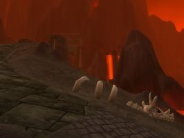 Wow Burning Steppes  3 Wallpaper by Swiftstone