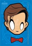 Heads Up Eleventh Doctor Who by HeadsUpStudios