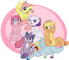 My little kittens. by RPpirate