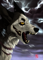 Raging Storm by wolf-minori