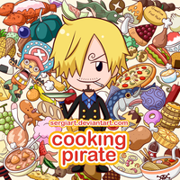 One Piece - Cooking Pirate by SergiART