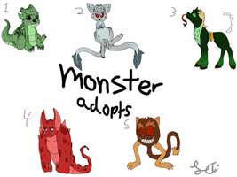 Monster point adopts by Letipup
