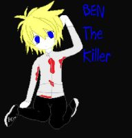 Ben The Killer by Ask-Racer-Ben