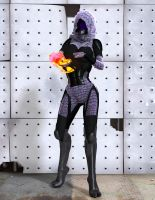 Tali'Zorah vas Normandy by MadamGoth