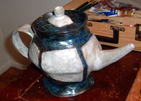 Chunky Teapot by chibianne
