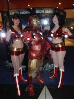 Iron Man - 'The Avengers' Opening Night by Old-Trenchy