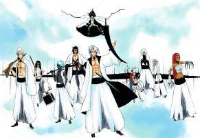 Bleach OC Group by AFunny