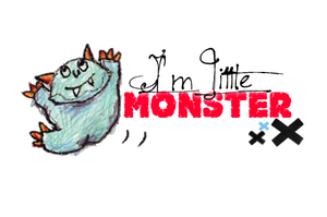PNG Little Monster by MyHeartWithJoe