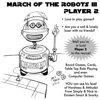 Player 2 March of robots by Joe5art