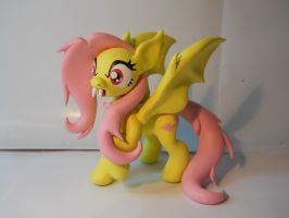 Flutterbat! Speedsculpt. by EarthenPony