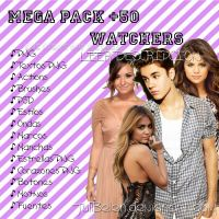 Mega Pack +50 Watchers by JuliBelen