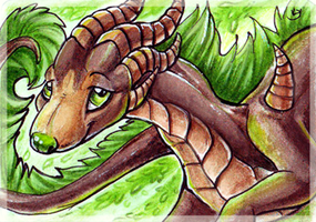 ACEO_Agaave by Kyuubreon