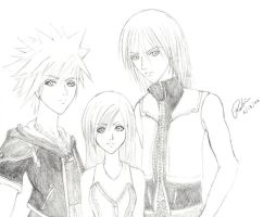 kingdom hearts 2 fanart by currybread
