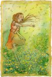 Dancing Through Dandelions by shadowgirl