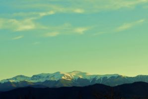 Snowy peaks of the Stara Planina by illusion1230