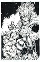 Rocket And Groot by rantz