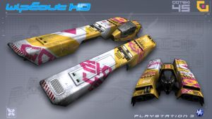 Goteki45 - WipEout HD - PS3 by nocomplys