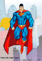 Superman by thunderking