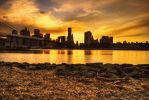 Sunset over the City by MJKam11