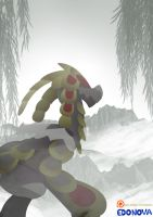 Kommo-O in the mist