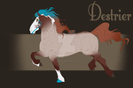 Destrier Import 036 by LadyxMacabre