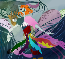 Birds And Feathers And Clowns by TheUnoriginal