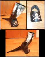 Pirate drinking horn holder-Support a corne pirate by elanqc