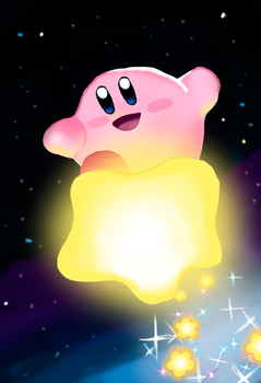 Happy Birthday Kirby!!!! by CC3TheArtist