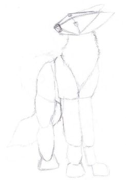 WIP-MAY06 Wolf Standing by Chansomps