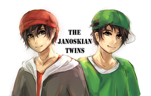 Janoskians Twins by Poopiess