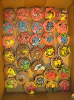Pokemon Cupcakes by harusame
