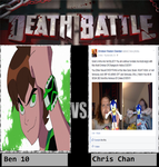 Ben 10 Vs Chris Chan by newsuperdannyzx