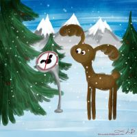 No deers by DominaWhite