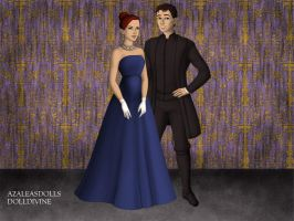 Anya and Dimitri at the Ballet by ArielxJim08
