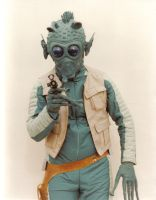 Star Wars Greedo costume by Beishung