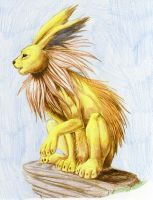 Jolteon by chained2stone